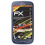 atFolix Folie für Samsung Galaxy S3 Neo (GT-i9301) Displayschutzfolie - 3 x FX-Antireflex-HD hochauflösende entspiegelnde Schutzfolie