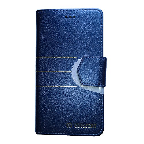 Zocardo TM© Faux Leather Unique Design Wallet Diary Flip Cover Case for Huawei Honor Holly U19 - Blue - Premium Cover with Inner Pocket  available at amazon for Rs.399