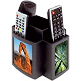 TV Remote Control Holder Organiser Revolving Rotating Carousel Storage