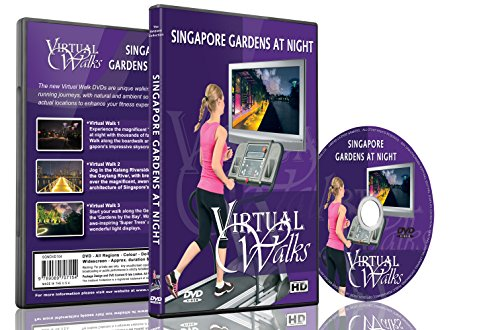 virtual-walks-singapore-gardens-at-night-for-indoor-walking-treadmill-and-cycling-workouts
