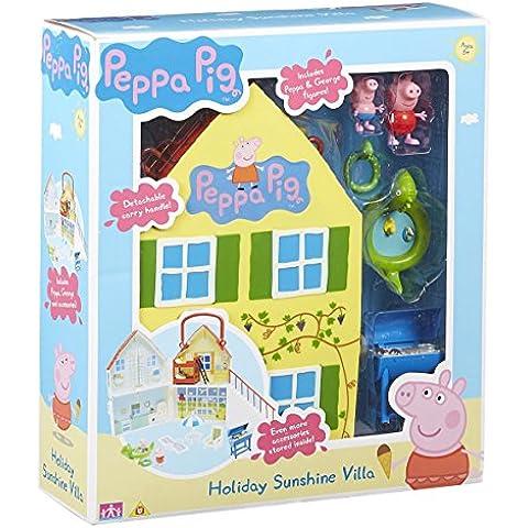 Peppa Pig - La casa de vacaciones, color blanca (Bandai 05595)
