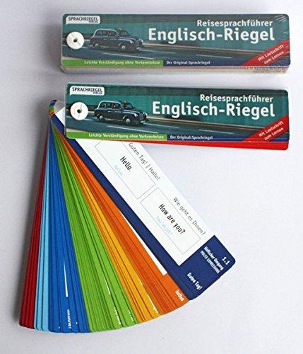 Englisch-Riegel: Reisesprachführer zum Zeigen (Sprachriegel)