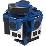 360RIZE 3 360 Video Rig for GO-PRO Action Cameras