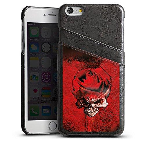 Apple iPhone 4 Housse Étui Silicone Coque Protection Rose Sang Épines Étui en cuir gris