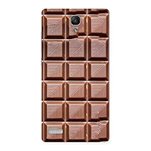 Neo World Chocolate Tiles Back Case Cover for Redmi Note