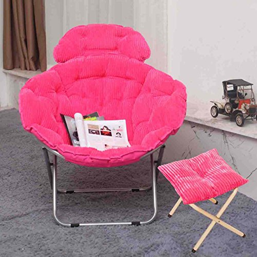 chaise pliante extérieure pliante - Grand adulte chaise de lune chaise de soleil chaise de papillon chaise paresseuse chaise de radar chaise inclinable chaise pliante chaise ronde chaise de canapé