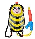 Wasserpistole mit Tankrucksack als Biene Rückenspritze Wasserspritze 15710
