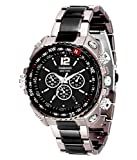 #3: Fabiano New York Mens & Boys Black,Grey Analogue Watch
