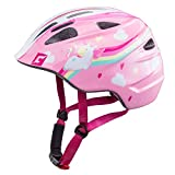 Cratoni Akino Helmet Kids Einhorn pink Glanz Kopfumfang S | 49-53cm 2018 Fahrradhelm