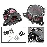 LanLan Grosses Soldes Kit de Filtre d'admission de Filtre à air en Alliage d'aluminium pour Harley Sportster XL883 1200