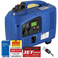 DENQBAR 2,2 kW Inverter Stromerzeuger Notstromaggregat Stromaggregat Digitaler Generator benzinbetrieben DQ2200ER mit E-Start und Funk