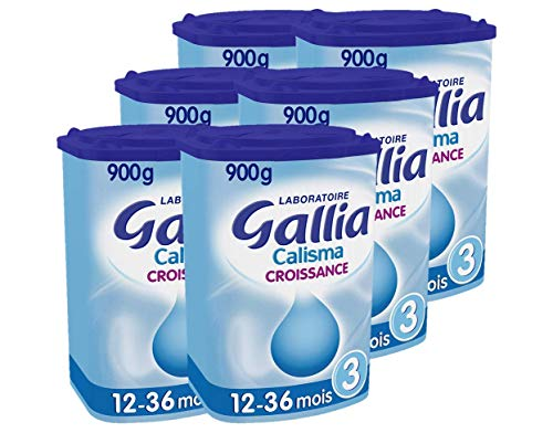 Laboratoire Gallia Calisma - Lait bébé Croissance en poudre dès 12 mois 900 g - Pack de 6