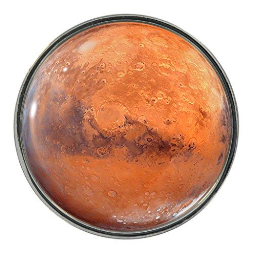 Planet Mars Design Metall-Pin Badge
