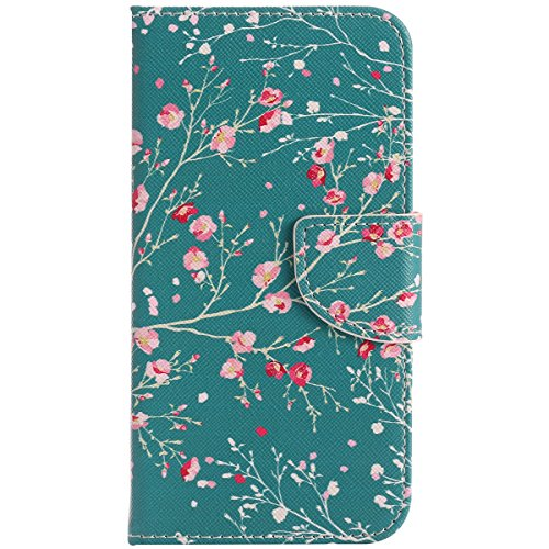 jawseu-leather-case-for-google-pixel-blossomwallet-cover-for-google-pixel-flower-colorful-pattern-sl