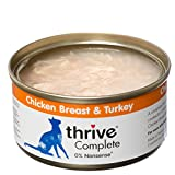 thrive Cat 100% COMPLETE - CHICKEN BREAST & TURKEY (pack of 12)