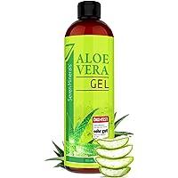 Aloe Vera Gel 99% Bio, 355 ml - ÖKO-TEST Sehr Gut - 100% Natürlich, Rein & Ohne Duftstoffe (Alkoholfrei, Kein Parfüm/WC…