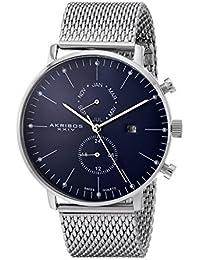 Akribos XXIV Reloj con movimiento cuarzo suizo Man 44 mm