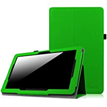 Dragon Touch X10 Funda - Fintie Folio Case Funda Cascara Delgada con Soporte para Dragon Touch X10 Tablet PC Android de 10.6 pulgadas, Verde
