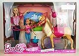 Barbie CCT25 - Camping-Spaß Puppe und Pferd