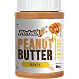 Pintola All Natural Honey Peanut Butter, Creamy, 1kg