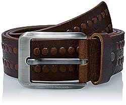 Peter England Mens Leather Belt (8907495896199_RL31791457_Large_Tan)