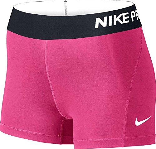 "Nike Damen Pro 3"" Cool Shorts,rosa,XS"
