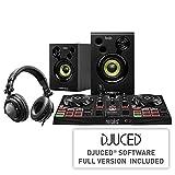 Hercules DJLearning Kit - DJControl Inpulse 200 Controller - DJ-Kopfhörer HDP DJ45 - DJMonitor 32