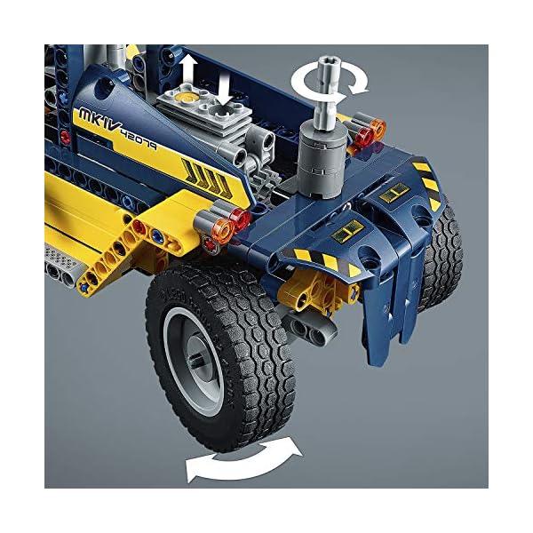 LEGO- Technic Carrello elevatore Heavy Duty, Multicolore, 42079 3 spesavip