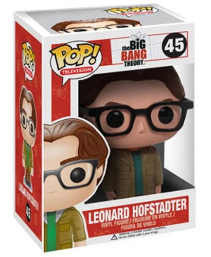 Big Bang Theory [UK-Import] Leonard Hofstadter Pop! Vinyl Figure