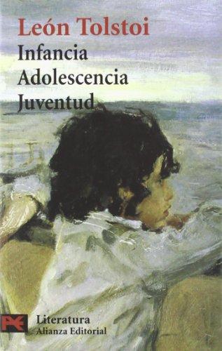 Infancia. Adolescencia. Juventud: (Memorias) (El Libro De Bolsillo - Literatura) por Lev Tolstói