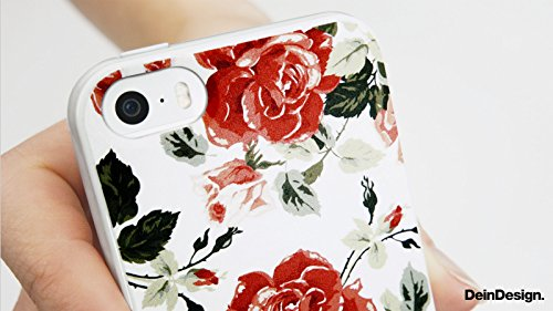 Apple iPhone X Silikon Hülle Case Schutzhülle Joker - The Joker Blumen Hut Silikon Case schwarz