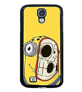 Vizagbeats Minion Half Skull Back Case Cover For Samsung Galaxy S4