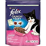 Felix Crunchy & Soft Junior, 4er Pack (4 x 950 g)