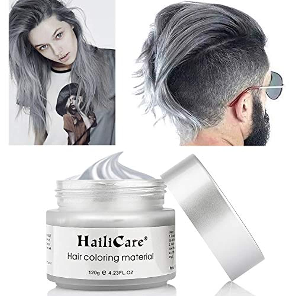 Haarfarbe männer graue Frisuren für