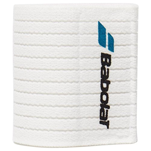 Babolat Unisex Starke Handgelenk Tennis Schutz, Weiß, One Size