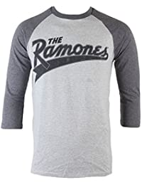 Herren T-Shirt Ramones - Baseball Logo - BRAVADO - 95221355 L