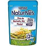 Nestle Naturnes doypack duo haricots, riz, poulet citron 190g - ( Prix Unitaire ) - Envoi Rapide Et Soignée