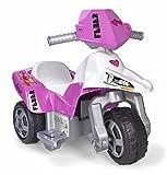 FEBER Sweety - Moto électrique à 3 roues pour enfants de 3 à 7 ans, 6v, Rose (Famosa 800012227)