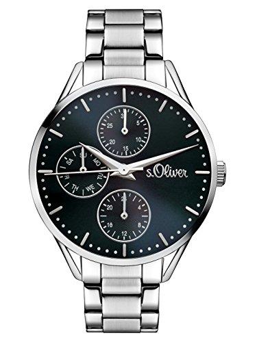 s.Oliver Time Damen-Armbanduhr SO-3349-MM