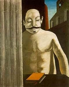 Reproduction 60 x 75cm - Giorgio de Chirico - l'enfant cerveau -