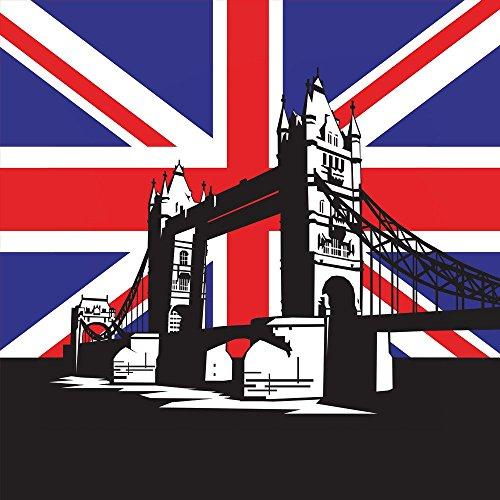 Apple iPhone 4 Housse Étui Silicone Coque Protection Londres Grande-Bretagne Tower Bridge Étui en cuir bleu marine