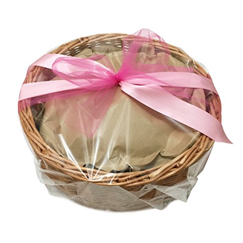 Treasure Basket - Colour Themed - Gift Wrapped - TreasureToys for Parents Treasure Basket (Pink) - Montessori EYFS