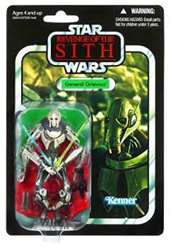 Star Wars - Figura vintage con capa, 8,8 cm