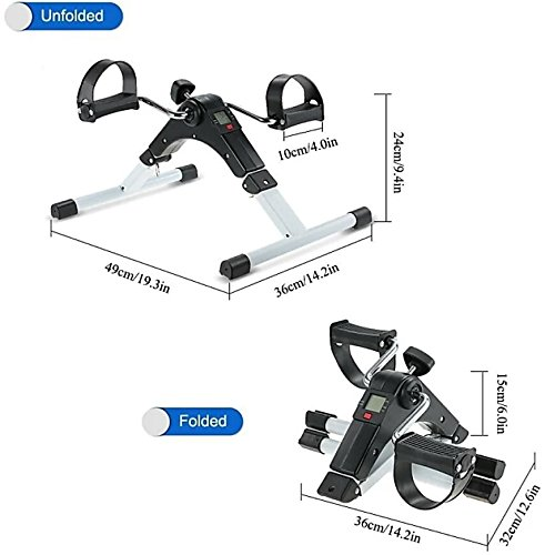 MSE *OFFER FREE 1 MAX PRO EXTENSION BOARD(worth rupees 999) WITH MINI CYCLE* Mini Plastic Metal Indoor/Outdoor Total Body Ecerciser Cum Cardio Cycle With Digital Display  available at amazon for Rs.2199