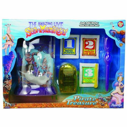 Sea Monkeys Pirate Treasure