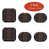 Elettrodi Pads, elettrodi Body cuscinetti gel adesivo Compatibile per addominali Slendertone Series cinture