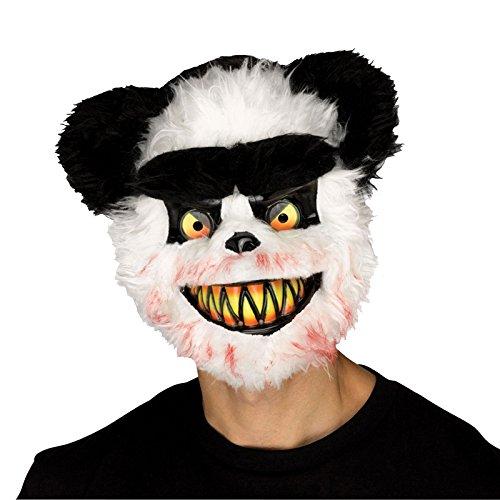 Halloween Erwachsene Killer Critter Zombie Panda Bär Maske & Cape Party Outfit