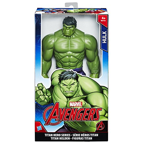 Hasbro Avengers B5772EU6 - Titan Hero Hulk, Actionfigur (Captain Action Joker Kostüm)