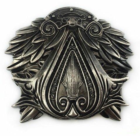 Assassin's Creed Brotherhood Metall-Gürtelschnalle (Gürtel Assassins Creed)