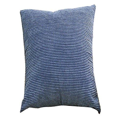 Denim Dekorative Kissen (Xuke 45,7x 45,7cm Maiskörner Cord Kissenbezug Kissen Überwurf Fall Home Decor jua739 denim-blau)